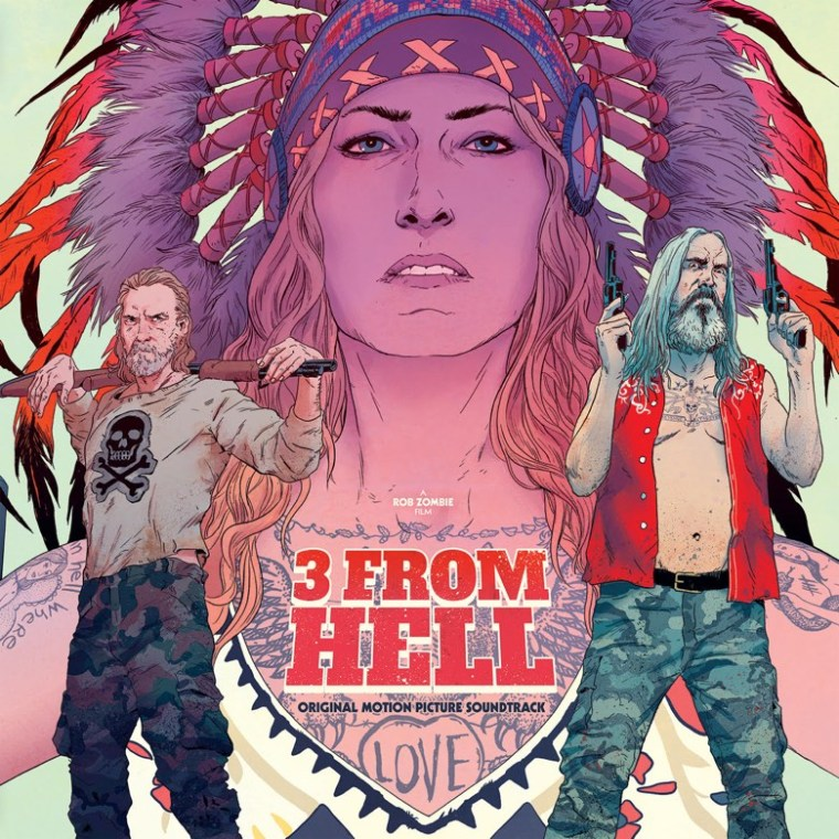 3 From Hell Rob Zombie Waxwork Records
