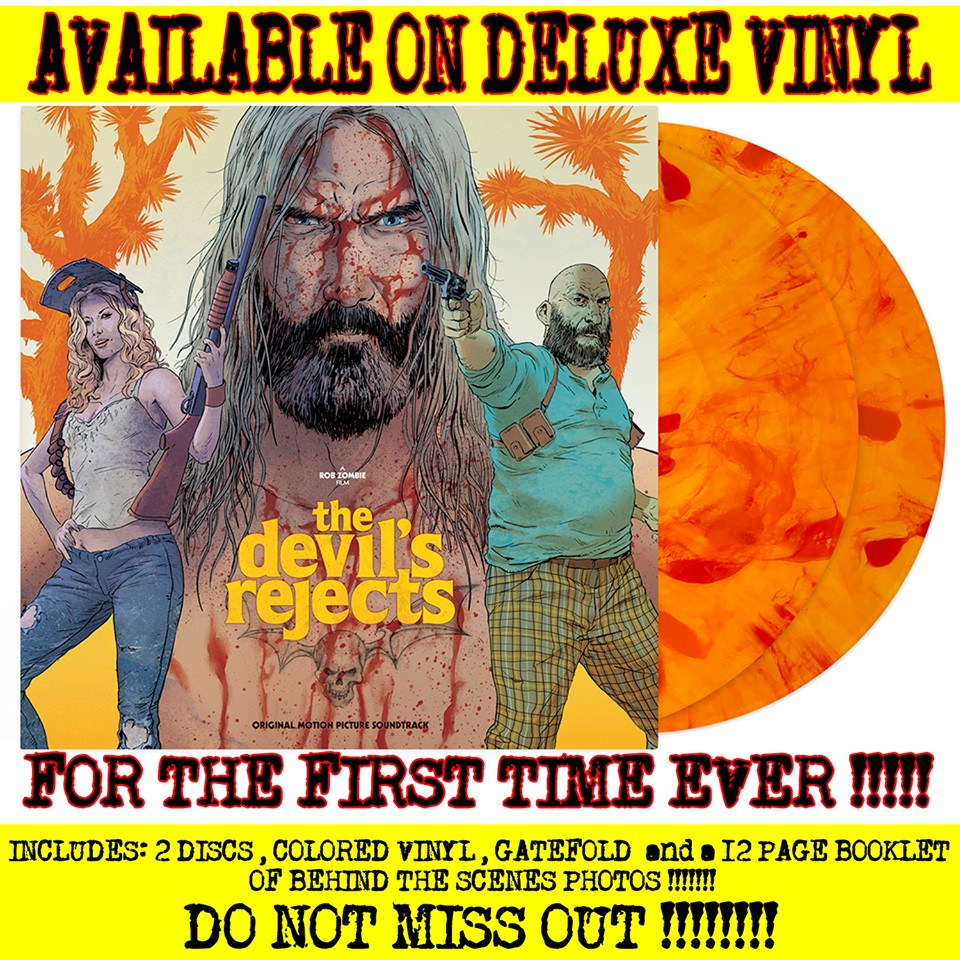 The Devils Rejects Rob Zombie Waxwork Records vinyl