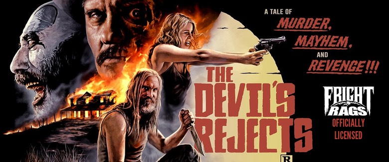 Fright Rags The Devils Rejects Rob Zombie Licensed Merchandise