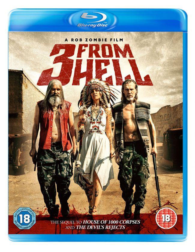 3 From Hell UK Blu-Ray release cover