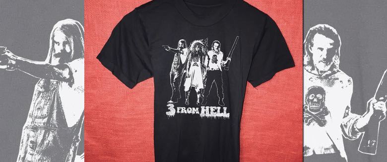 3 From Hell Zomboogey tee shirt