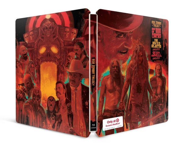 Rob Zombie trilogy blu-ray target back front cover