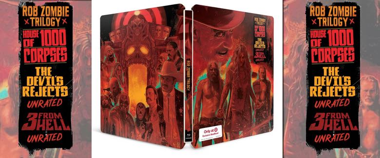 Details revealed for Rob Zombie Firefly Family Trilogy Steelbook Blu-ray exclusive Target
