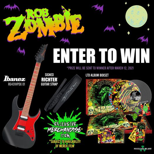 Rob Zombie Lunar Injection Ibanez contest