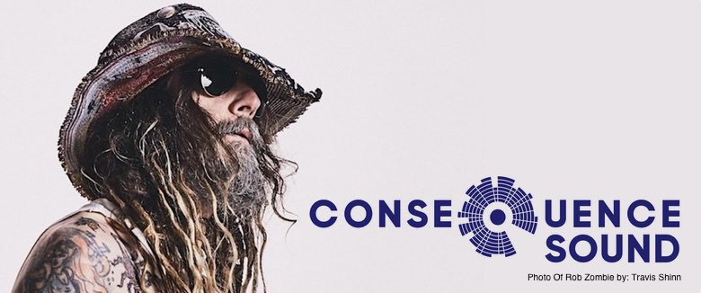 Rob Zombie Cosequence of Sound interview photo by travis shinny's
