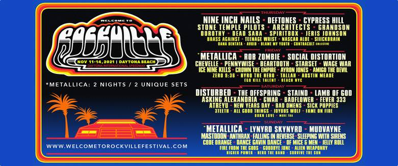 Welcome To Rockville Festival 2021 Rob Zombie