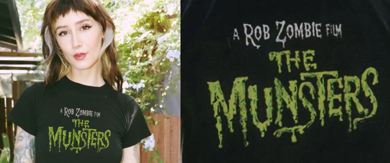 Rob Zombie Local Boogeyman The Munsters shirt