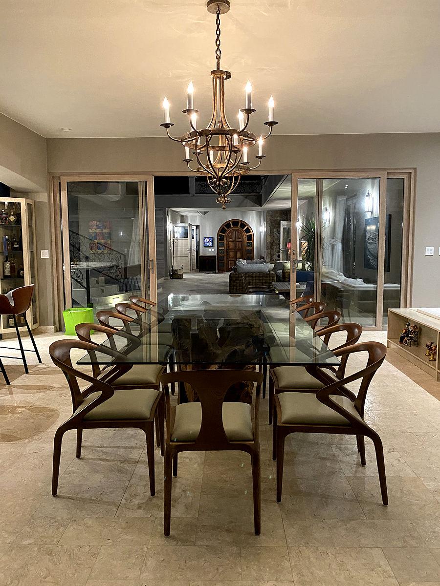 Roca Villa Dining Room
