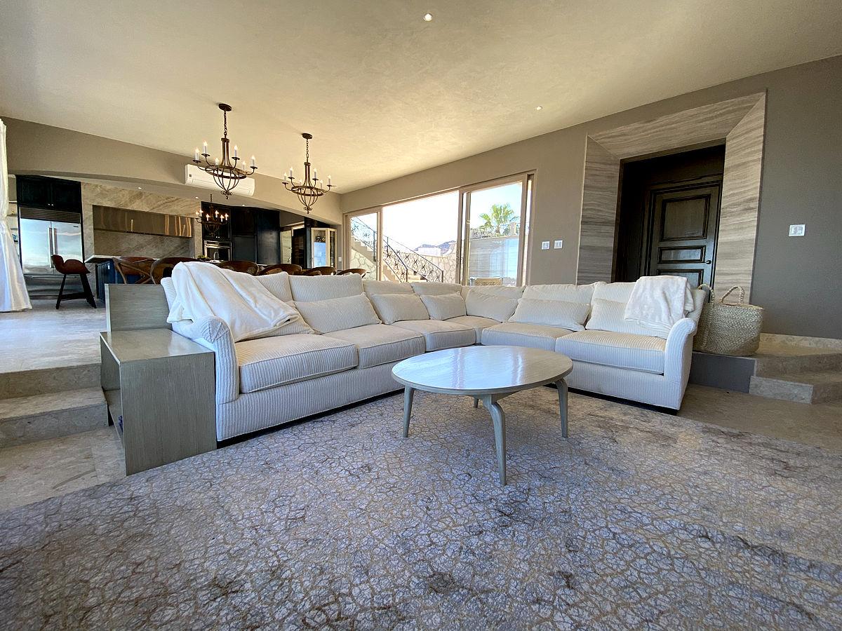 Roca Villa Living Room