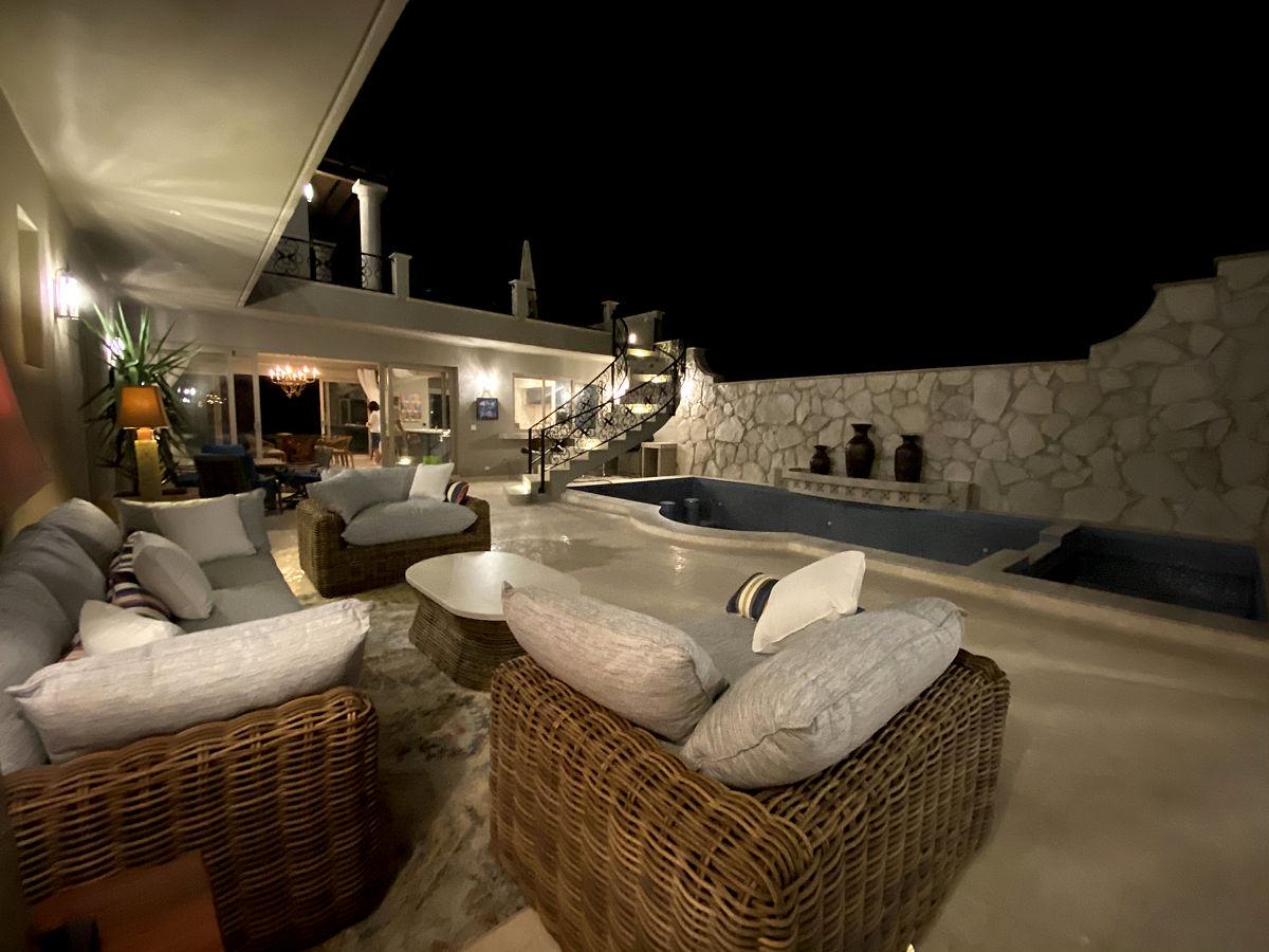 Roca Villa Pool Courtyard