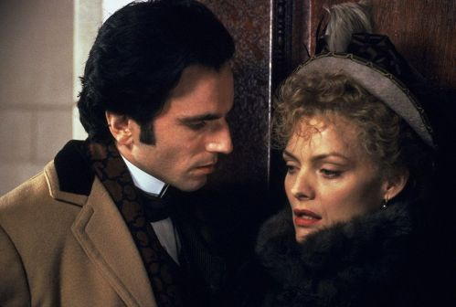 D.D.Lewis e M.Pfeiffer The Age of Innocence Make-up Manlio Rocchetti