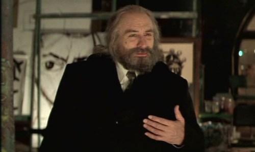 Robert De Niro in Great Expectations di Cuaron. Make-up Manlio Rocchetti