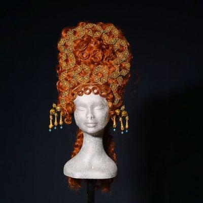 Parrucca rossa per Satyricon