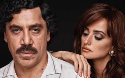 Film Escobar con Javier Bardem e Penelope Cruz