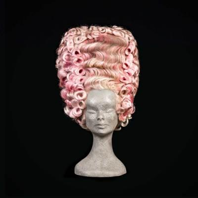 Parrucca 700 rosa