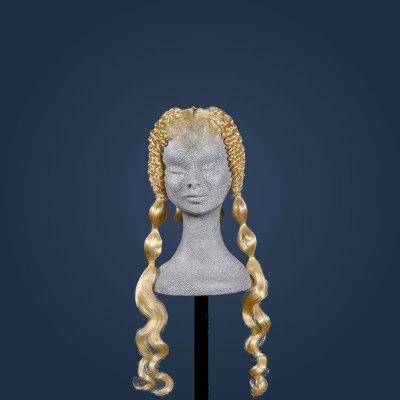 Parrucca fashion per vetrine Gucci