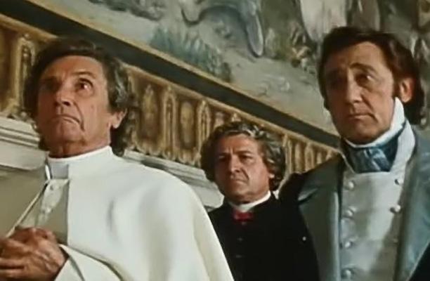Scene de Il Marchese del Grillo con parrucche Rocchetti