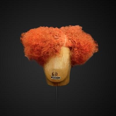 Parrucca rossa stile Colette