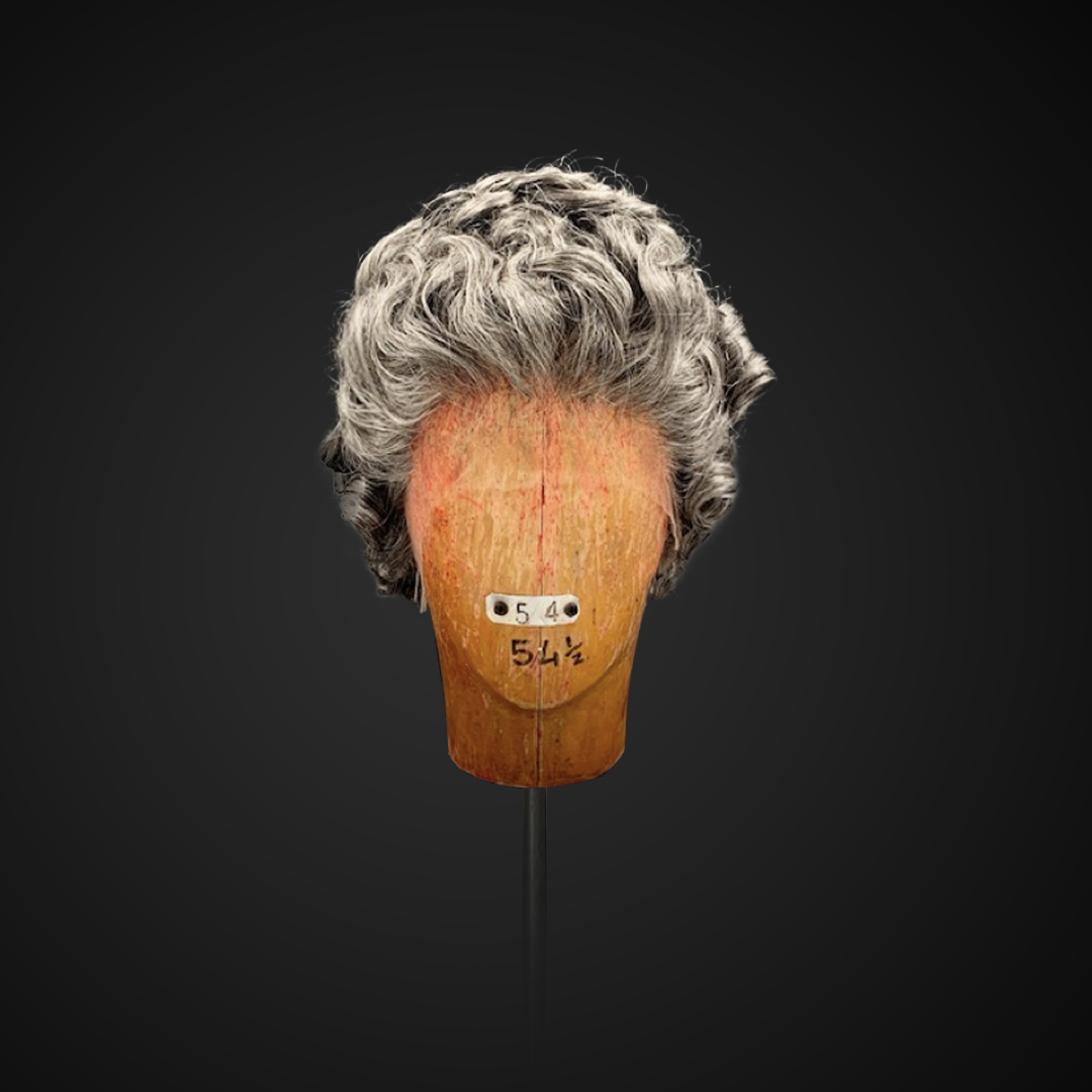 Parrucca brizzolata da donna