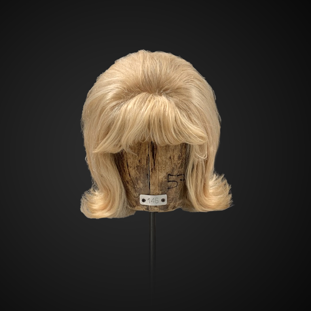 Parrucca bionda anni '60