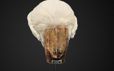 Parrucca bianca stile 700