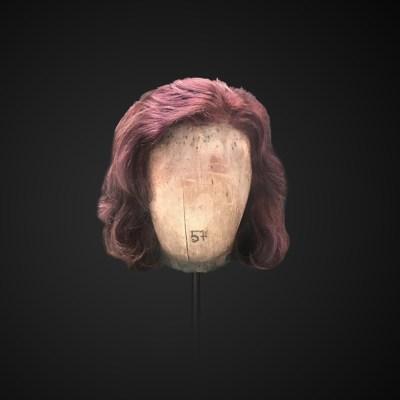 Parrucca taglio carré ondulato