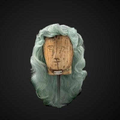 Parrucca stile fata turchina