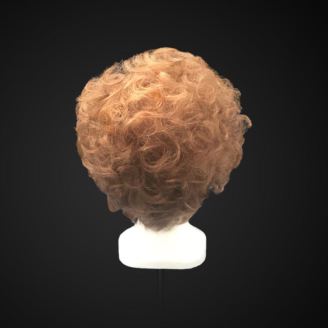 Parrucca biondo veneziano riccia
