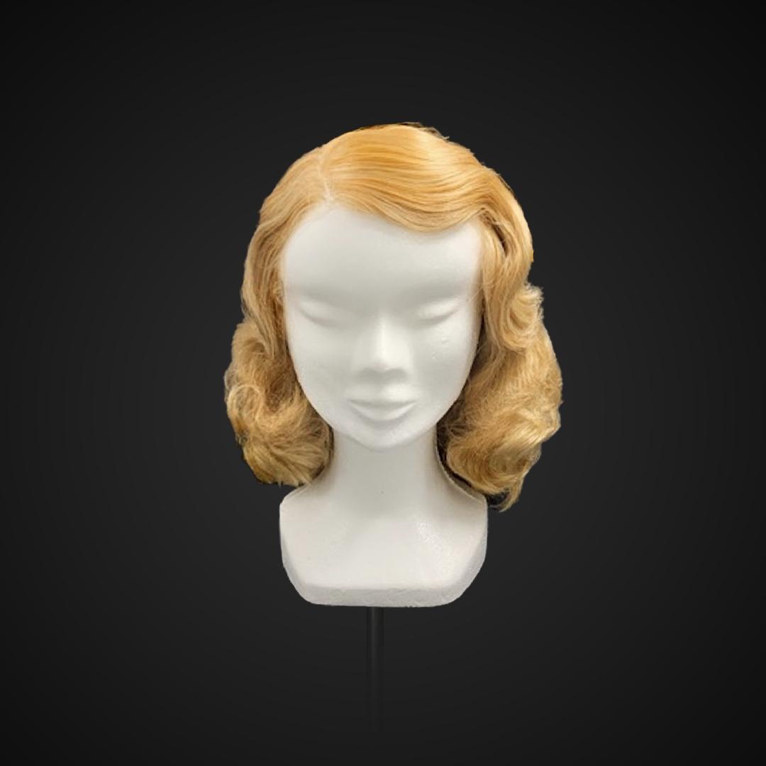 Parrucca bionda anni '40