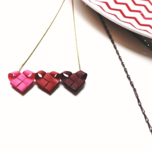 Gciletta_rocchettiepois_collane_handmade_origami_cuore