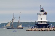 The Lynx and Spring Point Light.
