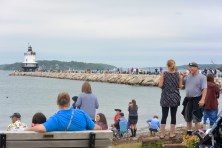 Spring Point sees a huge turn out for the tall ship parade.