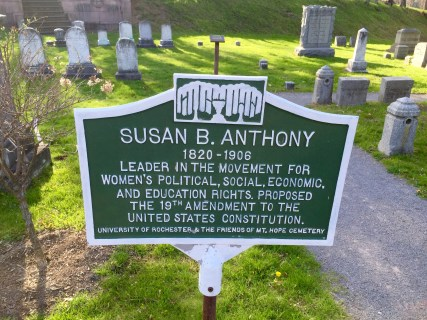 Historic marker! (A relatively new addition)