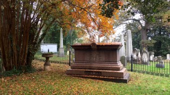 Cemeteries in fall are always beautiful