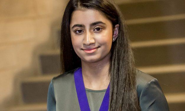 Former MYP Awarded the Diana Award