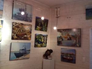 ©RocheGardies  roche gardies peintre  saint malo expo galerie les artistes et la mer avions bateaux  la rance saint briac  la grande hermine 2015 2