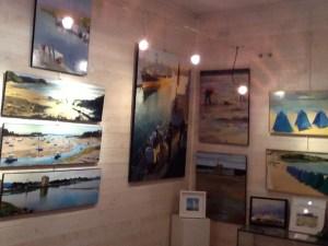 ©RocheGardies  roche gardies peintre  saint malo expo galerie les artistes et la mer avions bateaux  la rance saint briac  la grande hermine 2015  3