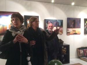 Roche gardies galerie Zonzon Brest . vernissage 22 janvier 2016 expo theatres intimes et maritimes 4