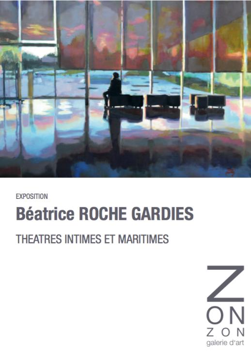 roche gardies peintre galerie ZONZON Brest expo 2016 théatres intimes et maritimes