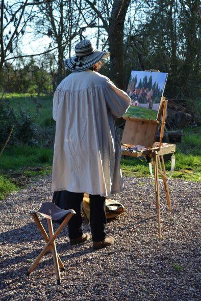 ©RocheGardies peintre stage. Améliorez votre style de peinture en 3 jours 5