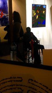 ©RocheGardies peintre ateliers loire  vernissage Exposition Chartres en vitrail  galerie du vitrail 2016 Pierre Carron, Didier Sancey, Tetsuo Harada,  Antoine Vincent , Leslie Xuereb. 3