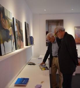 ©RocheGardies peintre   expo chez flora auvray arcitecte d'interieur Paris 2016  13