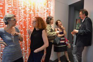 ©RocheGardies peintre   expo chez flora auvray arcitecte d'interieur Paris 2016  6