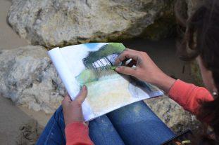 ©RocheGardies peintre stage de peinture sur motif plein air painting talmont meschers sur gironde 2017._0297