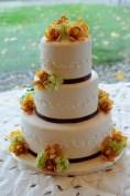 Vanilla Hazelnut Wedding Cake