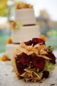 Cake & Bouquet