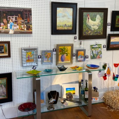 art in the gallery