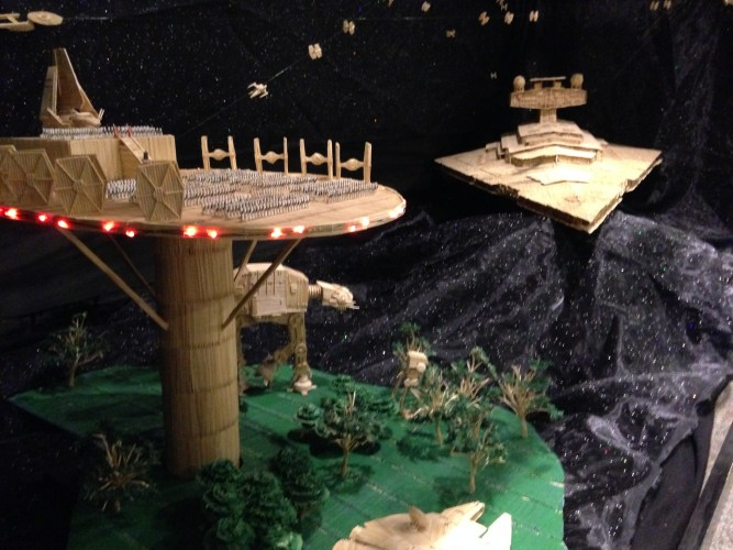 Toothpick World: Sci-Fi