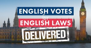 English Votes on English Laws