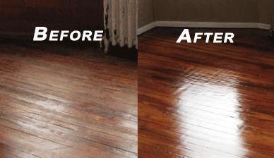 Buff and Recoat - Rochester Hardwood Floor